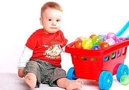 развивающие игры для ребенка 1 год