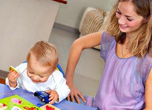 Ребенку 1 год развивающие игры занятия