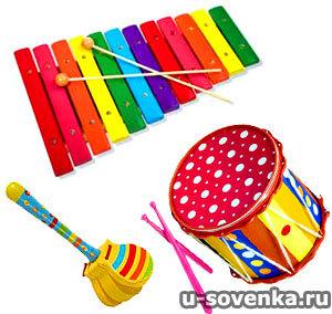 Музыкальная игрушка для малышей до года