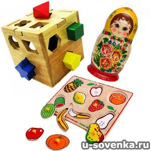 Обучающие игрушки для детей от 3 лет