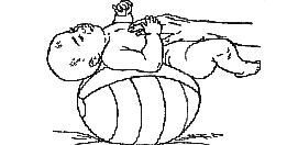 гимнастика малышу 4 5 6 месяца