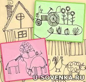 Картинки для детей рисавания 7 лет 2класс