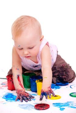 рисование ребенку с ребенком